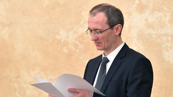 Заместитель председателя правительства РФ - глава аппарата правительства РФ Дмитрий Григоренко