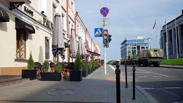 Милиция Белоруссии в усилении в связи с планами оппозиции провести несанкционированные акции