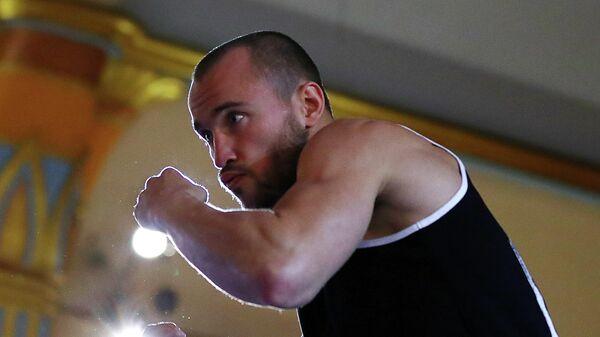 Бывший регулярный чемпион WBA в полусреднем весе Александр Беспутин