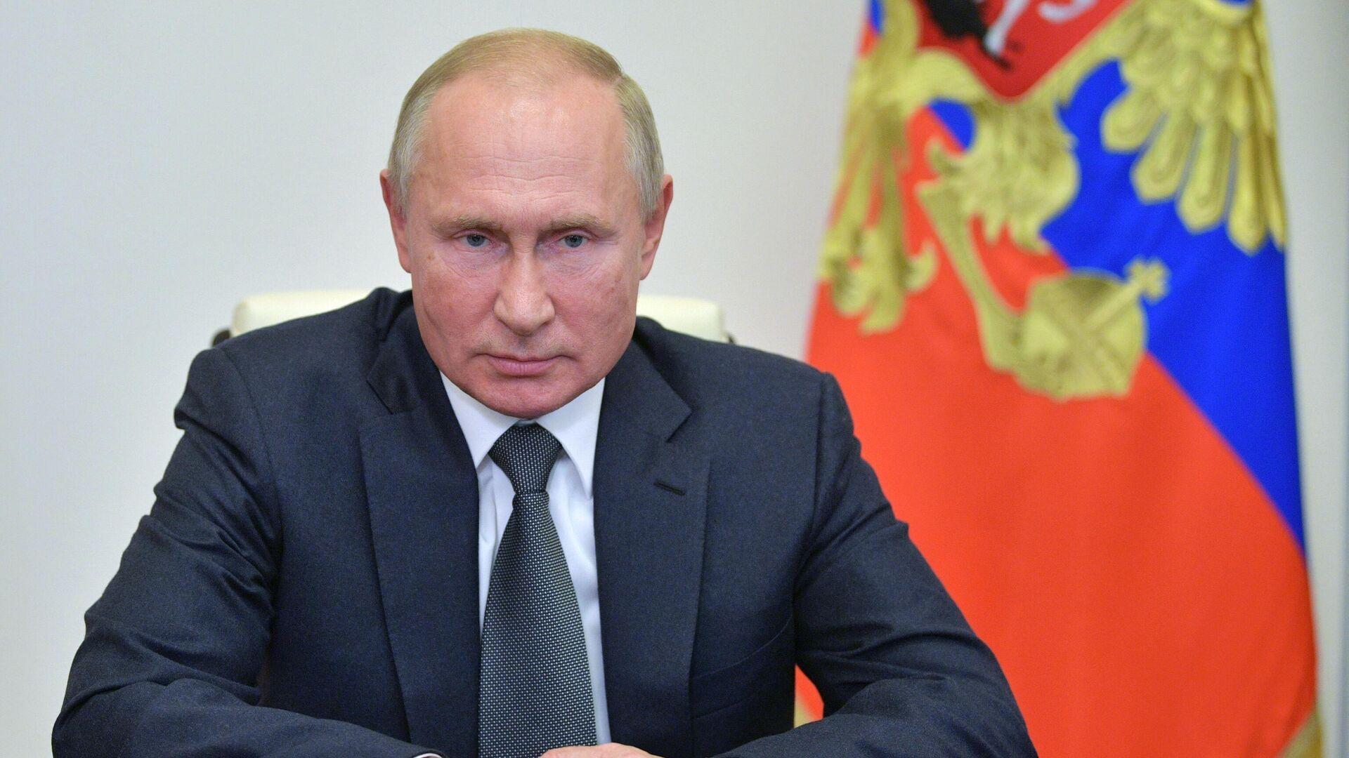 Президент России Владимир Путин - РИА Новости, 1920, 15.10.2020