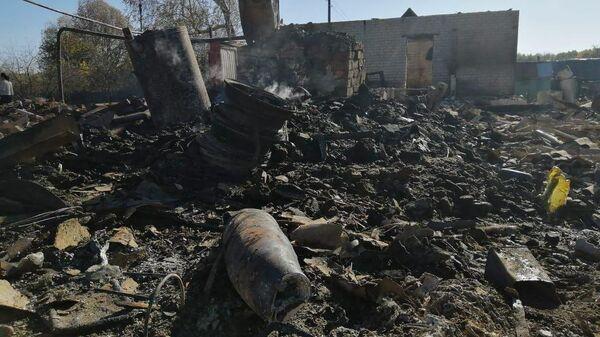 Ситуация в деревне Шелемишевские Хутора в Рязанской области, пострадавшей в результате пожара на военных складах