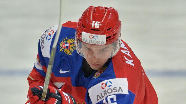 Игрок СКА и сборной России Владислав Каменев