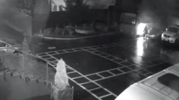 Отделение милиции в Минске забросали коктейлями Молотова