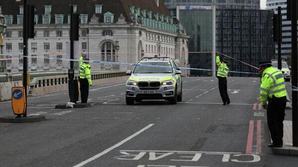 Полиция в центре Лондона