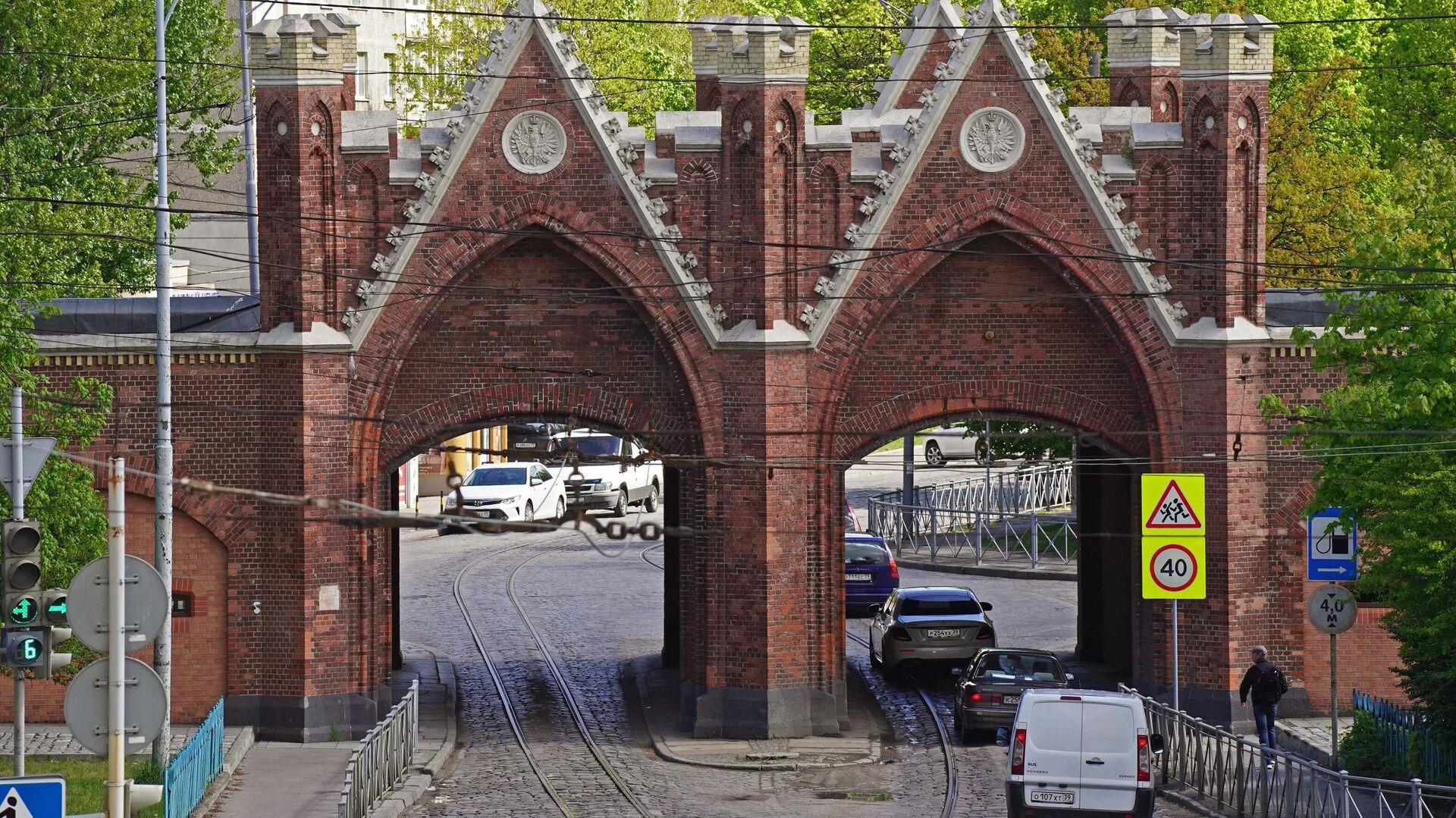 Бранденбургские ворота в Калининграде - РИА Новости, 1920, 28.10.2020