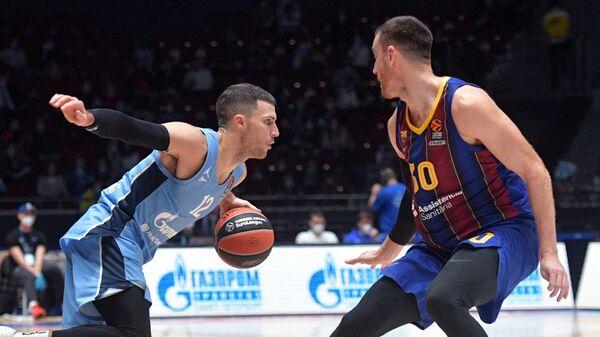 Баскетбол. Евролига. Матч Зенит — Барселона