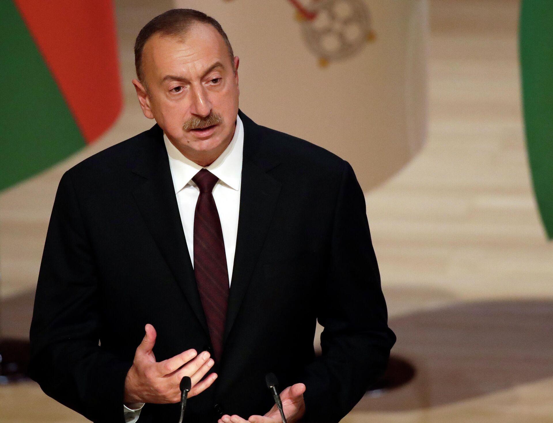 Президент Азербайджана Ильхам Алиев - РИА Новости, 1920, 15.10.2020