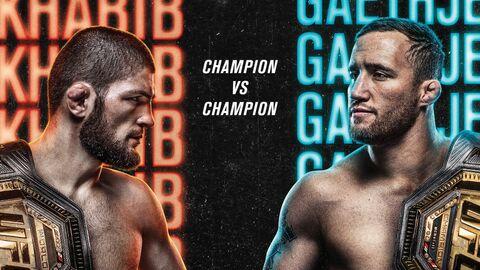 Постер к турниру UFC 254