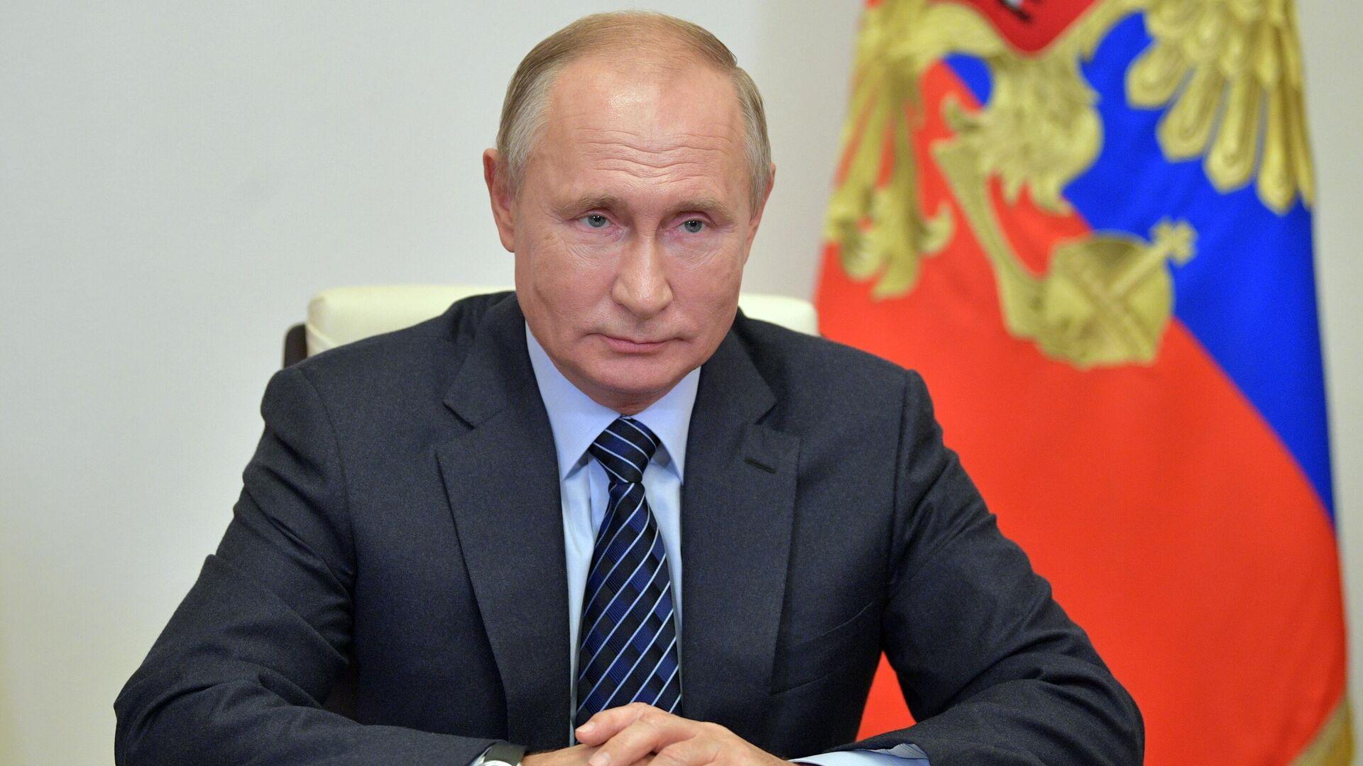 Президент РФ Владимир Путин  - РИА Новости, 1920, 04.12.2020