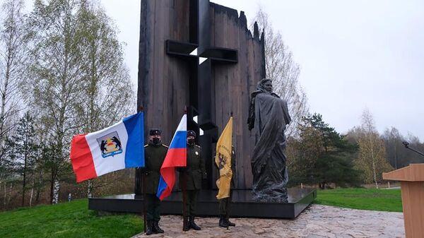 Мемориальный комплекс, посвященный жертвам Великой Отечественной войны, у деревни Жестяная Горка