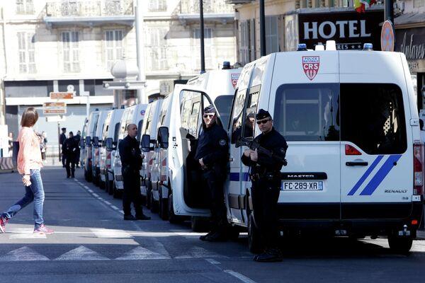 Полицейские в Ницце