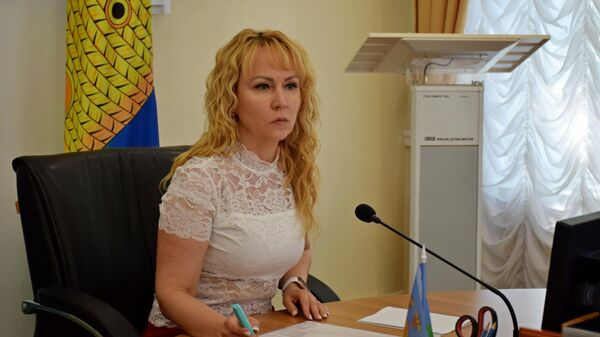 Мэр Тамбова Наталия Макаревич