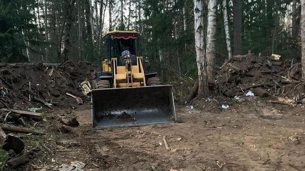 Незаконное размещение отходов пресекли в Богородском округе Подмосковья