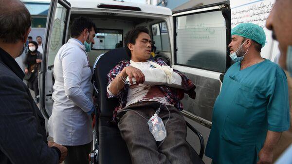 Пострадавший в результате нападения на Кабульский университет
