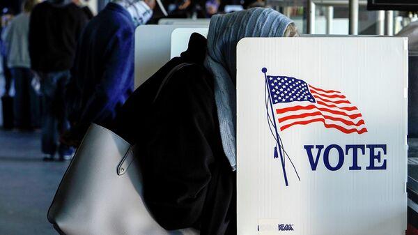 Досрочное голосование в Талсе, штат Оклахома, США. 30 октября 2020 года