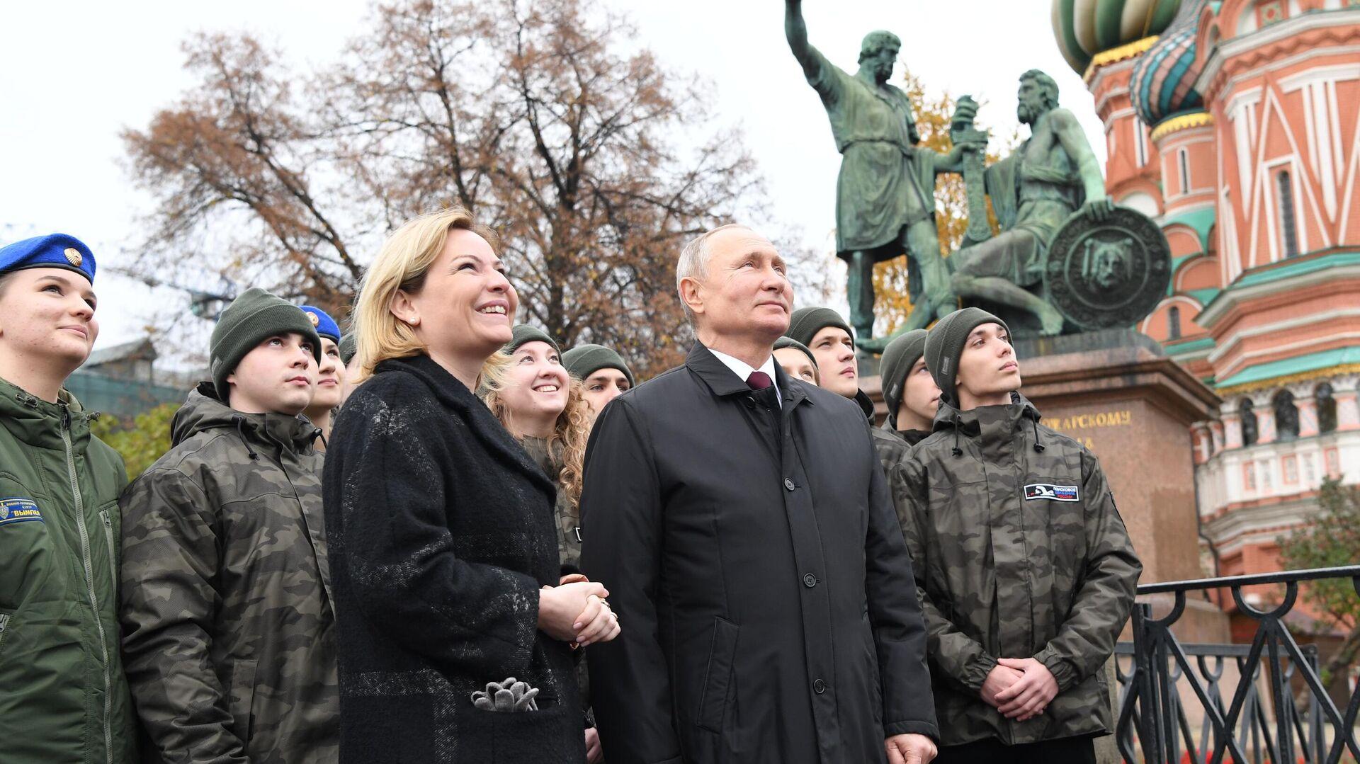 Путин проведет встречу с Ольгой Любимовой