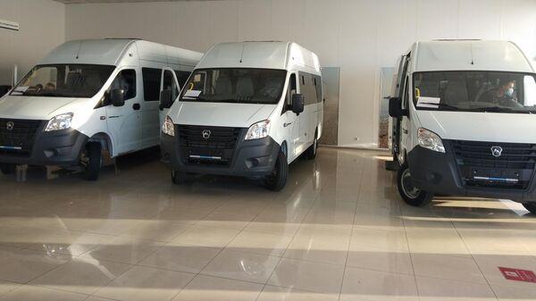 Новую партию автобусов Газель-Некст передали районам Забайкалья