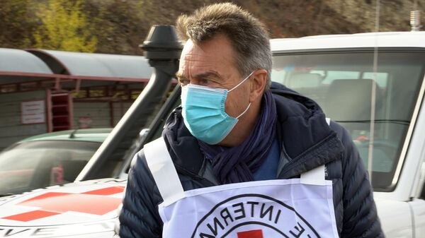 Глава Международного комитета Красного Креста Петер Маурер