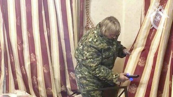 Оперативно-следственные действия на месте убийства двух женщин в Солнечногорске