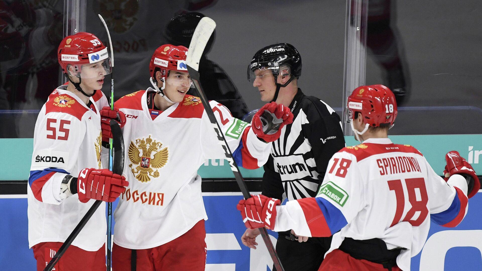 Хоккеисты сборной России - РИА Новости, 1920, 08.11.2020