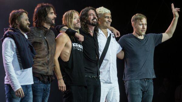 Рок-группа Foo Fighters