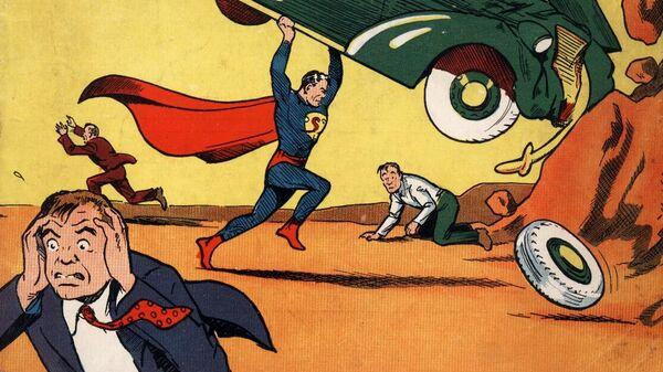 Обложка Action Comics 1938 года