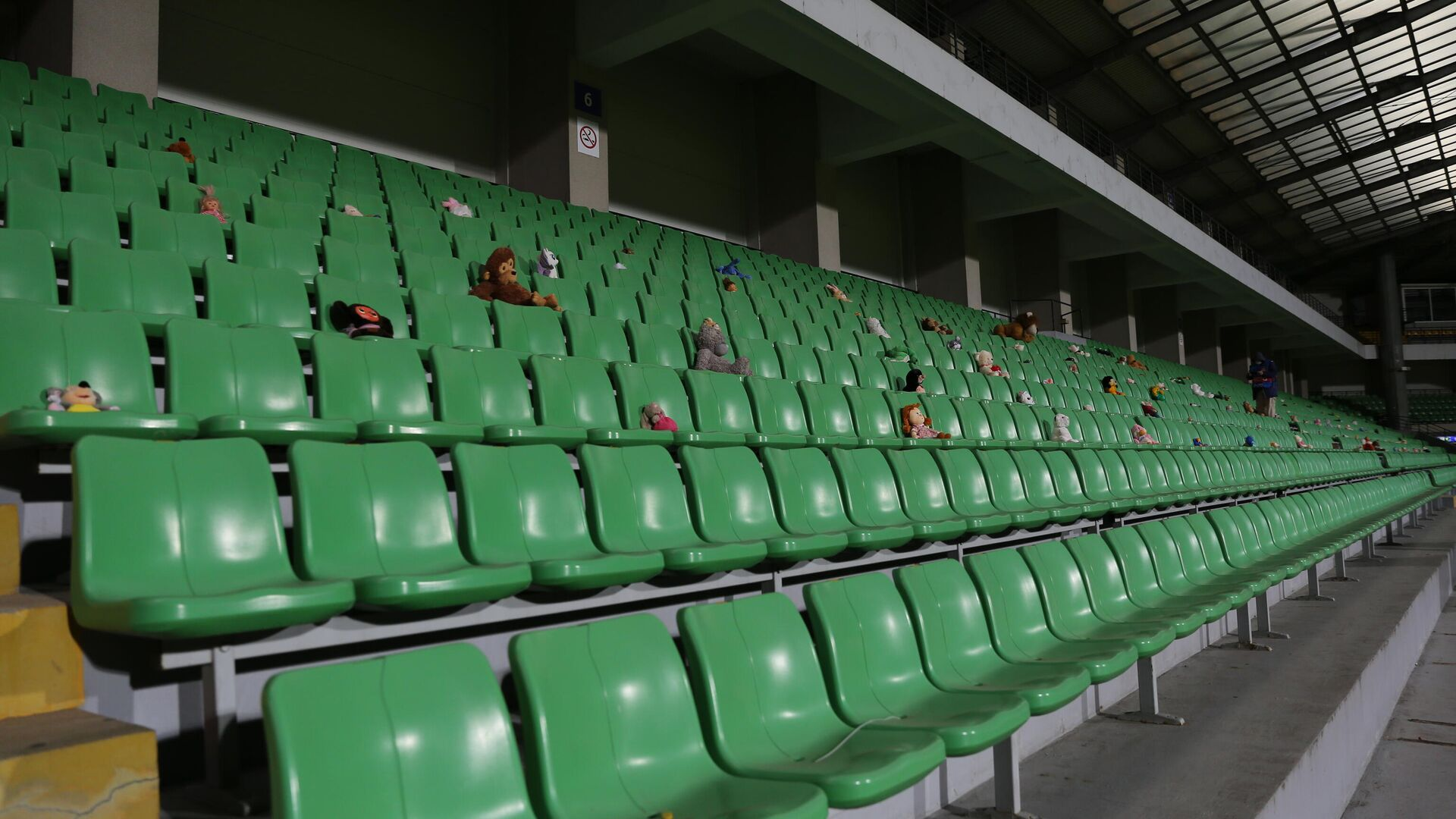 Пустые трибуны стадиона - РИА Новости, 1920, 14.01.2021