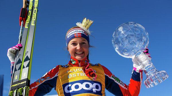 Норвежская лыжница Ингвильд Флугстад Эстберг