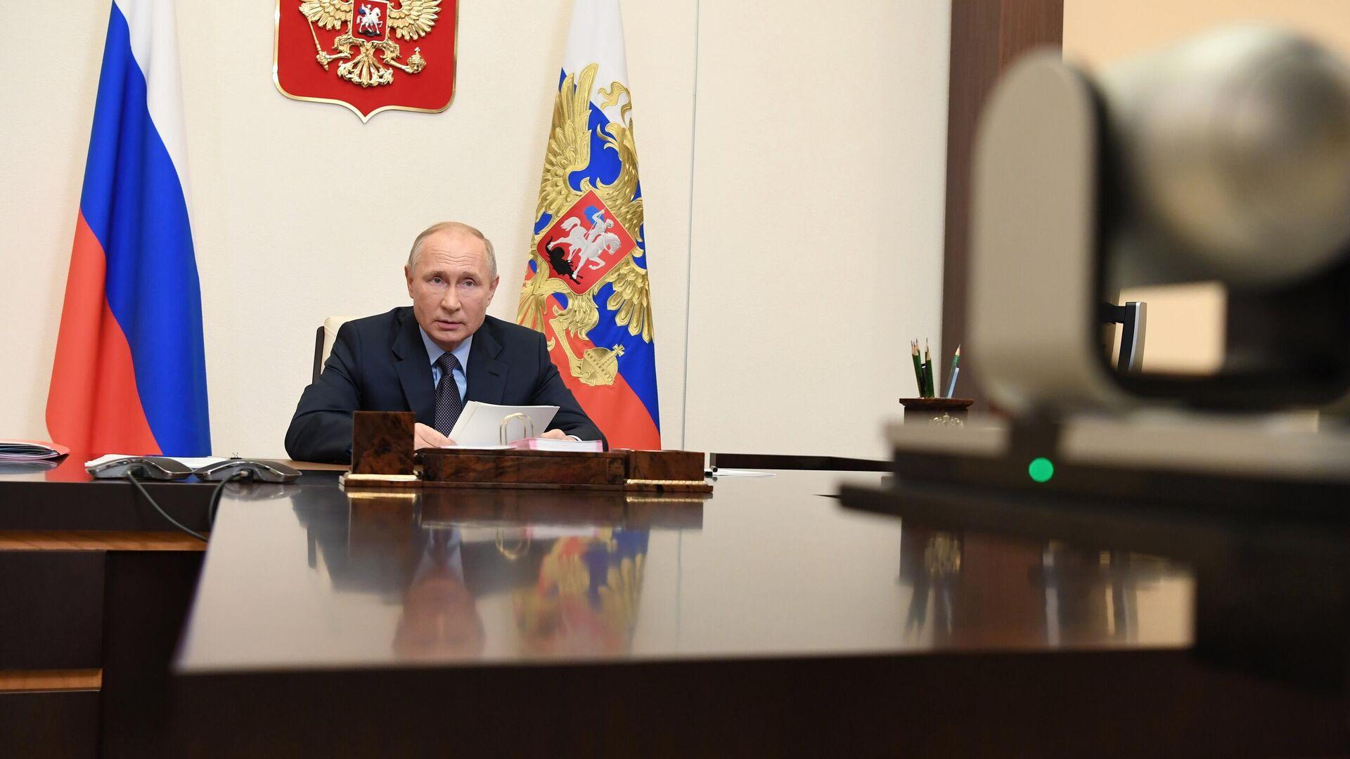 Президент РФ Владимир Путин  - РИА Новости, 1920, 17.11.2020