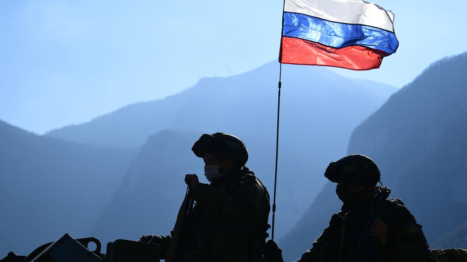 Российские миротворцы в Нагорном Карабахе - РИА Новости, 1920, 22.05.2021