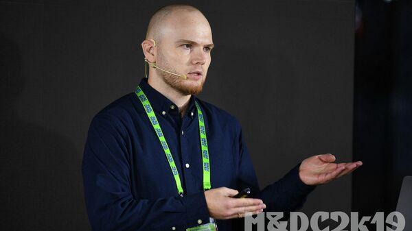 Ведущий дизайнер медиагруппы Россия сегодня Евгений Тарасенко
