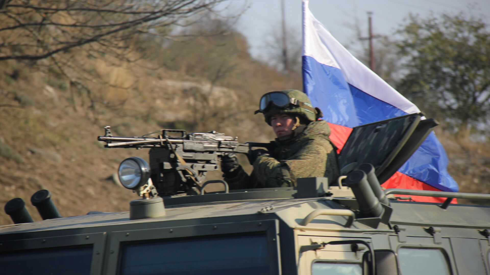Российские миротворцы закончили развертывание в Нагорном Карабахе - РИА Новости, 21.11.2020