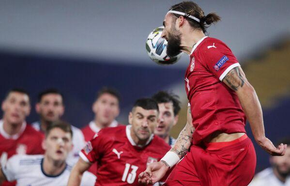 Полузащитник сборной Сербии Неманья Гудель