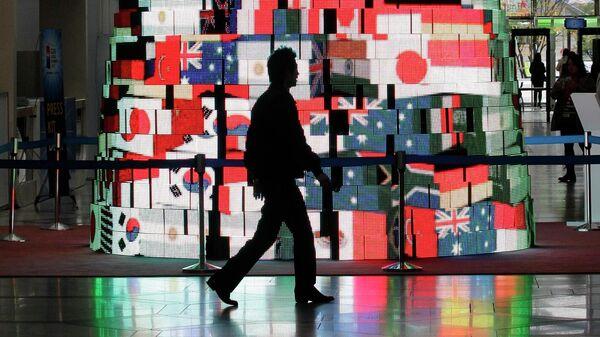 Флаги стран-участниц саммита G20