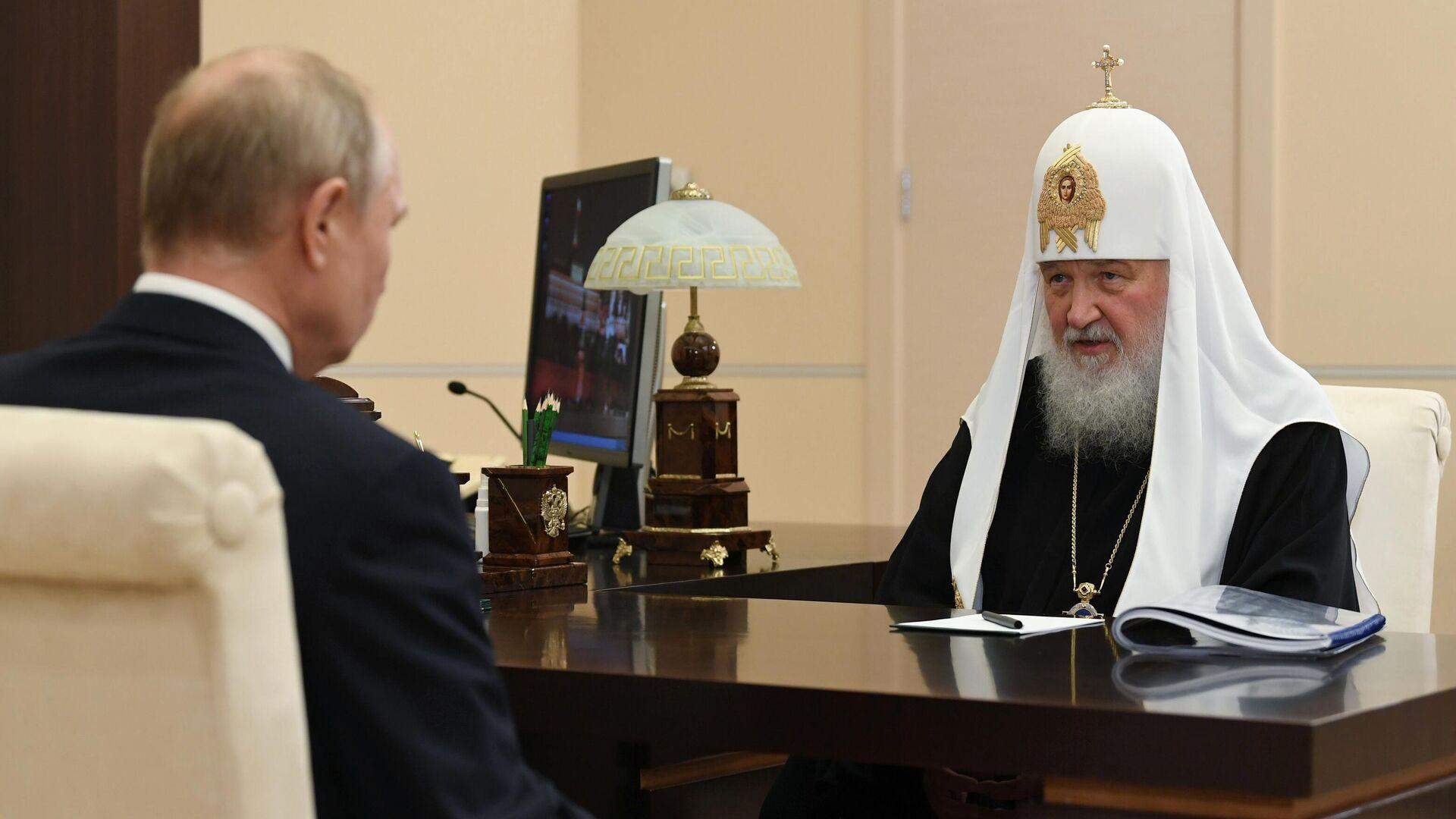 Патриарх Кирилл рассказал о допуске священников к больным COVID-19 - РИА  Новости, 20.11.2020
