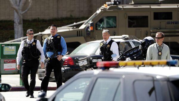 Сотрудники правоохранительных органов США в Сан-Хосе, Калифорния