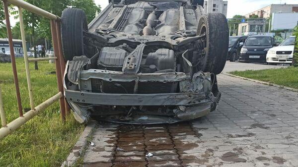 ДТП в Хабаровске, повлекшее смерть мужчины и его 5-летнего сына