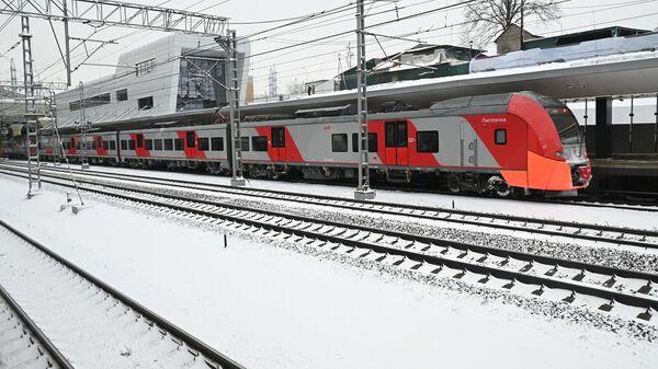 Новая станция Московского центрального диаметра Ховрино