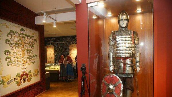 Экспозиция Одоевское княжество в краеведческом музее Одоева