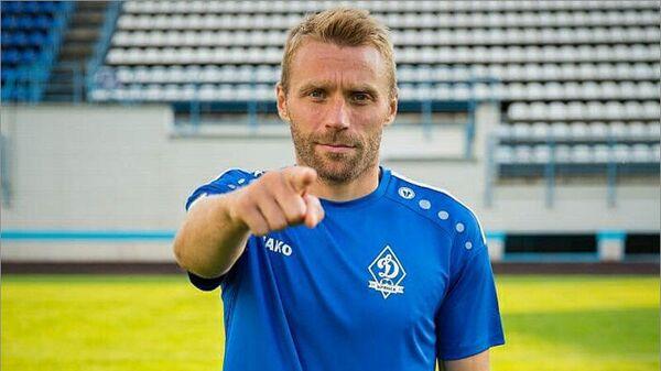 Защитник брянского Динамо Андрей Луканченков