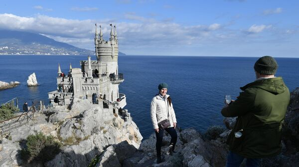 Дворец Ласточкино гнездо в Крыму