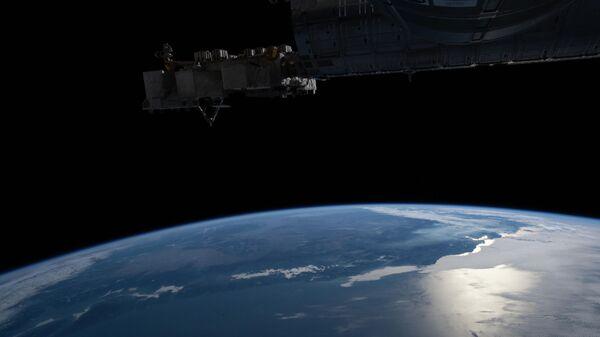 Залив Сан-Франциско с борта Международной космической станции