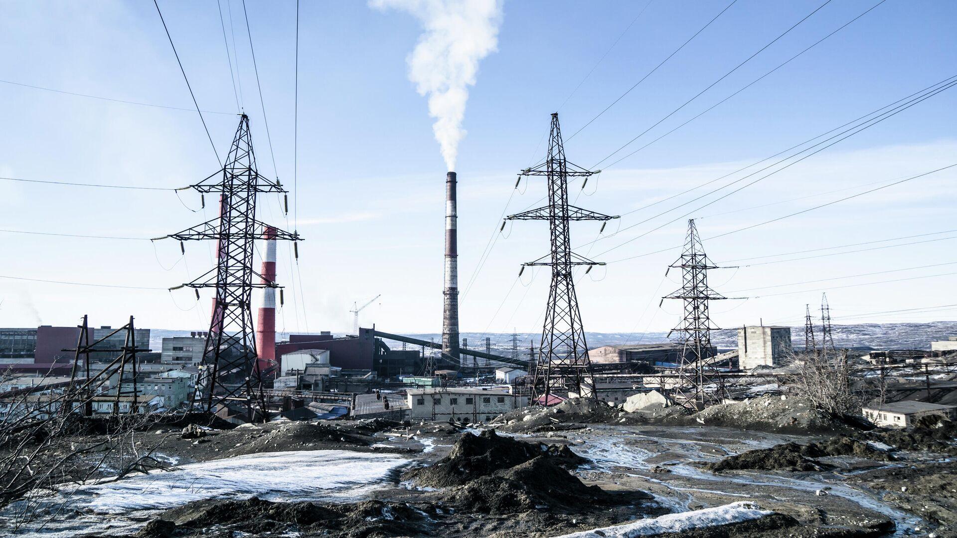 Город Никель в Мурманской области - РИА Новости, 1920, 27.11.2020