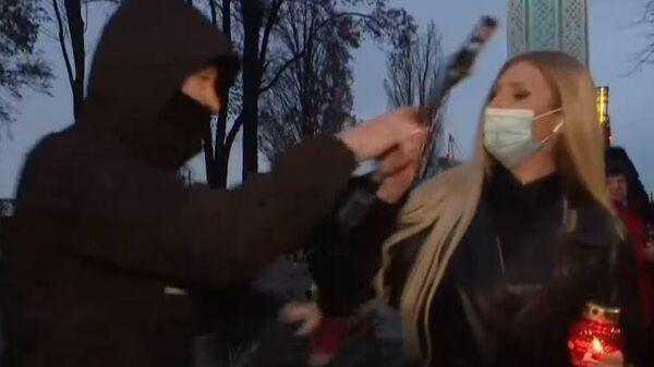 Украинская журналистка стала жертвой нападения