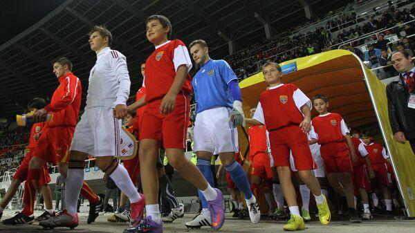 Футбол. Отборочный турнир ЧЕ 2012. Македония - Россия