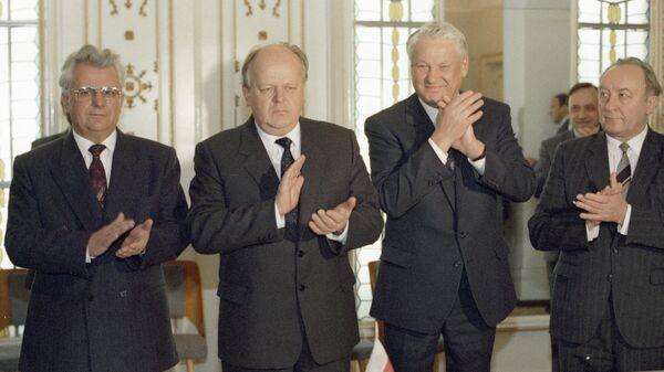 Владимир Жарихин о Беловежском соглашении и итогах года в СНГ