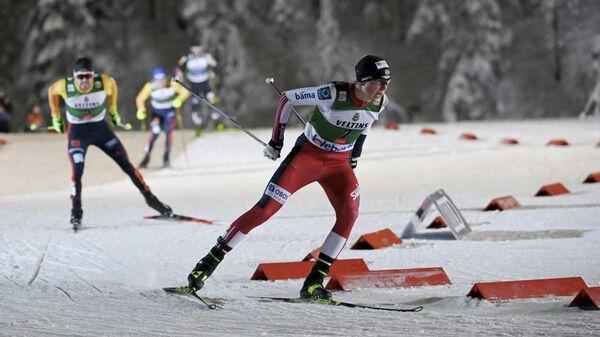 Норвежский лыжник Енс Лурос Офтебру