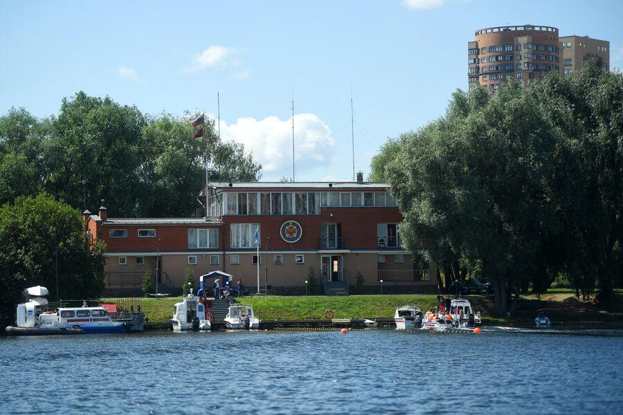 Поисково-спасательная станция Строгино в Москве.