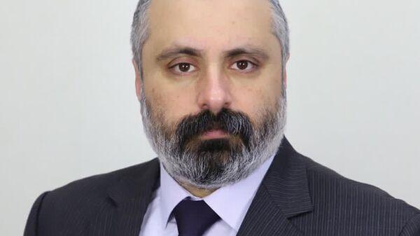Советник президента непризнанной Нагорно-Карабахской Республики Давид Бабаян