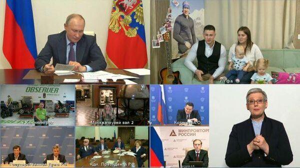 """""""Ну хватит уже"""" – Путин призвал к осторожности спортсмена, совершившего на одних руках восхождение на Эльбрус"""